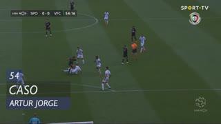 Vitória FC, Caso, Artur Jorge aos 54'