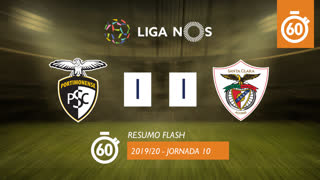 Liga NOS (10ªJ): Resumo Flash Portimonense 1-1 Santa Clara