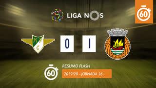 Liga NOS (26ªJ): Resumo Flash Moreirense FC 0-1 Rio Ave FC