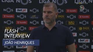 João Henriques satisfeito com a manutenção na I Liga
