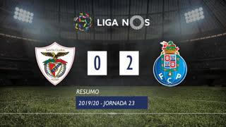 Liga NOS (23ªJ): Resumo Santa Clara 0-2 FC Porto