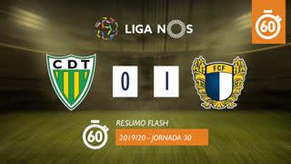Liga NOS (30ªJ): Resumo Flash CD Tondela 0-1 FC Famalicão