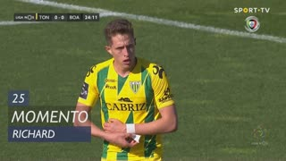 CD Tondela, Jogada, Richard aos 25'