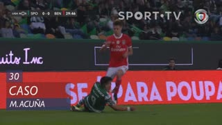 Sporting CP, Caso, M. Acuña aos 30'