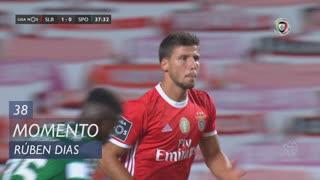 SL Benfica, Jogada, Rúben Dias aos 38'