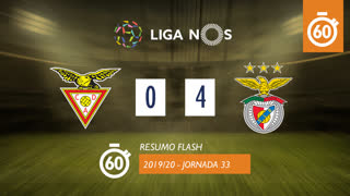 Liga NOS (33ªJ): Resumo Flash CD Aves 0-4 SL Benfica