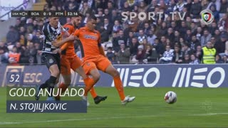 Boavista FC, Golo Anulado, N. Stojiljkovic aos 52'