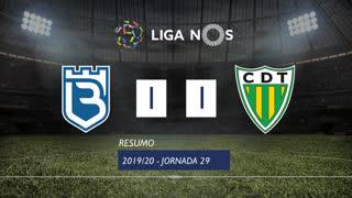 Liga NOS (29ªJ): Resumo Belenenses SAD 1-1 CD Tondela