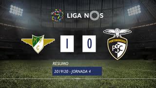 Liga NOS (4ªJ): Resumo Moreirense FC 1-0 Portimonense