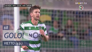 GOLO! Sporting CP, Vietto aos 68', Sporting CP 2-0 CD Aves