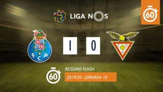 Liga NOS (10ªJ): Resumo Flash FC Porto 1-0 CD Aves