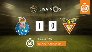 I Liga (10ªJ): Resumo Flash FC Porto 1-0 CD Aves