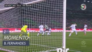 Sporting CP, Jogada, Bruno Fernandes aos 2'