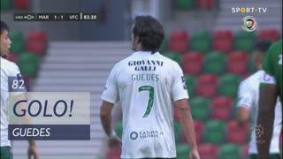 GOLO! Vitória FC, Guedes aos 82', Marítimo M. 1-1 Vitória FC