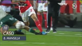 Vitória FC, Caso, B. Mansilla aos 70'