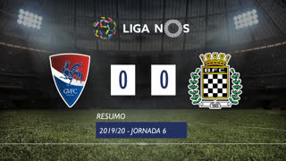 Liga NOS (6ªJ): Resumo Gil Vicente FC 0-0 Boavista FC
