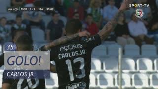 GOLO! Santa Clara, Carlos Jr. aos 35', Moreirense FC 1-1 Santa Clara