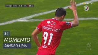 Gil Vicente FC, Jogada, Sandro Lima aos 32'