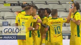 GOLO! FC P.Ferreira, Maracás aos 10', Gil Vicente FC 0-1 FC P.Ferreira