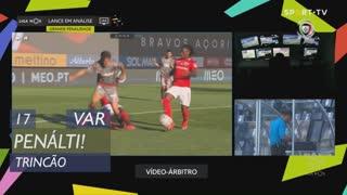SC Braga, Penálti, Trincão aos 17'
