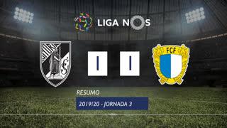 Liga NOS (3ªJ): Resumo Vitória SC 1-1 FC Famalicão