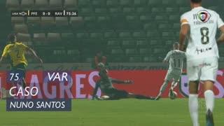 Rio Ave FC, Caso, Nuno Santos aos 75'