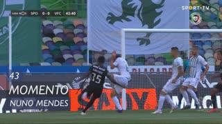 Sporting CP, Jogada, Nuno Mendes aos 43'