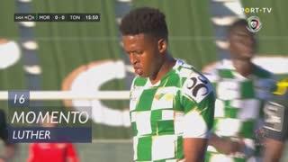 Moreirense FC, Jogada, Luther aos 16'