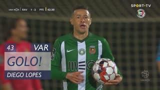 GOLO! Rio Ave FC, Diego Lopes aos 43', Rio Ave FC 1-2 FC P.Ferreira