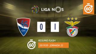 Liga NOS (22ªJ): Resumo Flash Gil Vicente FC 0-1 SL Benfica