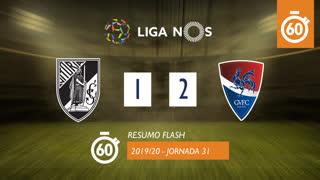 I Liga (31ªJ): Resumo Flash Vitória SC 1-2 Gil Vicente FC