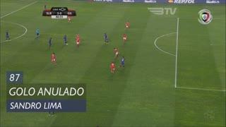 Gil Vicente FC, Golo Anulado, Sandro Lima aos 87'
