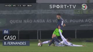 Sporting CP, Caso, Bruno Fernandes aos 86'