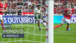 Vitória FC, Jogada, B. Mansilla aos 90'+4'