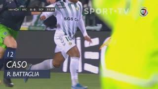 Sporting CP, Caso, Rodrigo Battaglia aos 12'