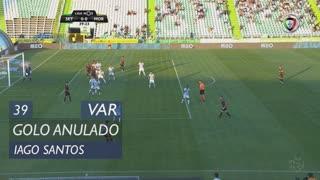 Moreirense FC, Golo Anulado, Iago Santos aos 39'
