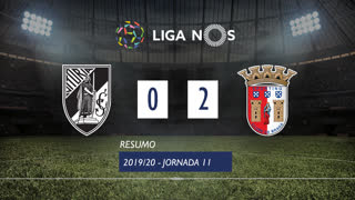 I Liga (11ªJ): Resumo Vitória SC 0-2 SC Braga