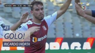 GOLO! SC Braga, Ricardo Horta aos 42', SC Braga 1-0 Belenenses SAD