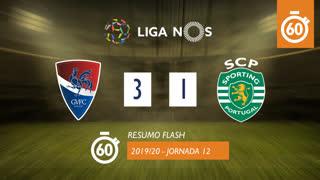 Liga NOS (12ªJ): Resumo Flash Gil Vicente FC 3-1 Sporting CP