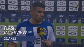 Liga (14ª): Flash Interview Soares