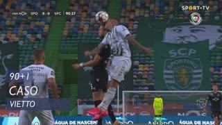 Sporting CP, Caso, Vietto aos 90'+1'