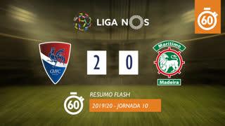 I Liga (10ªJ): Resumo Flash Gil Vicente FC 2-0 Marítimo M.