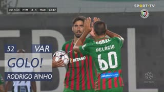 GOLO! Marítimo M., Rodrigo Pinho aos 52', Portimonense 2-1 Marítimo M.