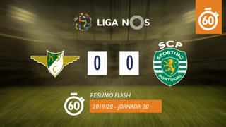 Liga NOS (30ªJ): Resumo Flash Moreirense FC 0-0 Sporting CP
