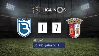 Liga NOS (15ªJ): Resumo Belenenses SAD 1-7 SC Braga