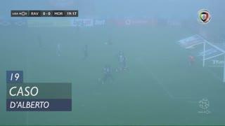 Moreirense FC, Caso, D'Alberto aos 19'