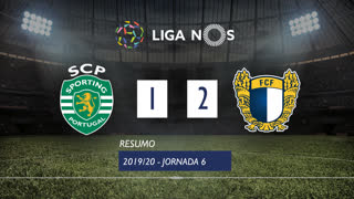 Liga NOS (6ªJ): Resumo Sporting CP 1-2 FC Famalicão