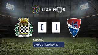 Liga NOS (23ªJ): Resumo Boavista FC 0-1 Gil Vicente FC