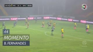 Sporting CP, Jogada, Bruno Fernandes aos 44'