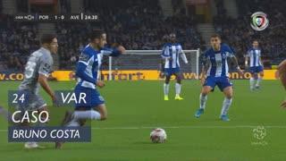 FC Porto, Caso, Bruno Costa aos 24'
